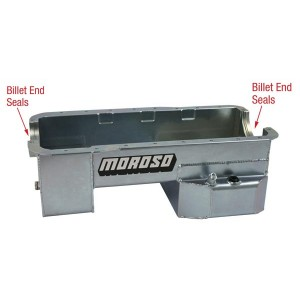 Moroso 7qt Road Race Rear Sump Oil Pan 351