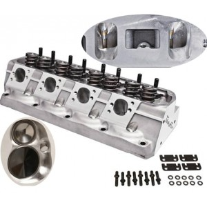 Total Engine Airflow CNC 240 Hi Port Cylinder Heads (Hyd or Solid)