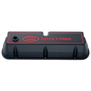 Proform Ford Racing Valve Covers (with Ford Mustang recessed logo)