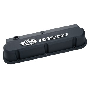 Proform Ford Racing Slant Edge Valve Covers (with raised logo)
