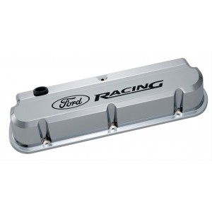 Proform Ford Racing Slant Edge Valve Covers (with recessed logo)