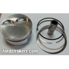 331/347 Wiseco 2618 Forged Pistons (Flat, -14cc, -20cc) with Rings for Inline, Hi Port and Twisted Wedge
