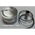 408 Wiseco 2618 Forged Pistons (Flat, -22cc, -32cc, -36cc) with Rings for Inline, Hi Port and Twisted Wedge