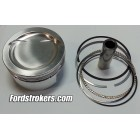 427 Wiseco 2618 Forged Pistons (Flat, -22cc, -32cc, -36cc) with Rings for Inline, Hi Port and Twisted Wedge