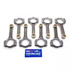 Scat 6.200 I Beam Connecting Rods 2-ICR6200-7/16